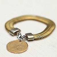 Ax + Apple  Spin And Coin Charm Bracelet at Free People Clothing Boutique