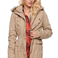 LA Hearts Hooded Anorak Jacket at PacSun.com