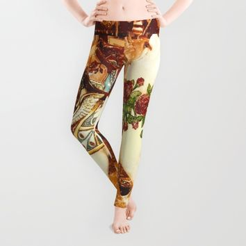 Carnivale Leggings by Jessica Ivy