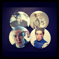T.O.P Pinback Buttons (Big Bang - Made to Order)