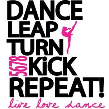 Dance Leap Kick Wall Decal