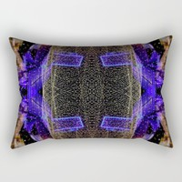 City Synthesis Rectangular Pillow by RichCaspian