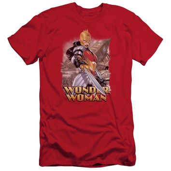 Jla - Wonder Woman Short Sleeve Adult 30/1