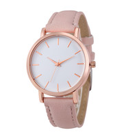 Fashion Unisex Leather  Watches Women