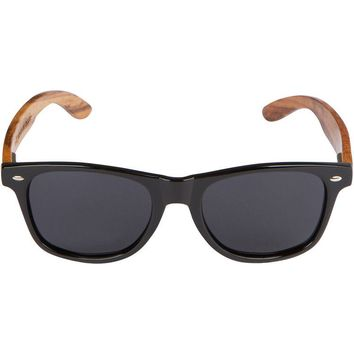 Walnut Wood Sunglasses