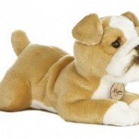 Aurora World Miyoni 11 inches  Bulldog Stuffed Dog