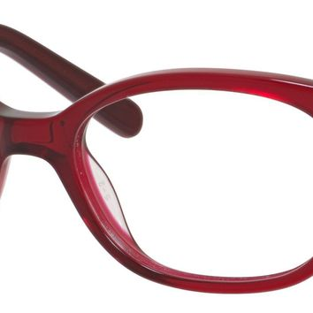 Juicy Couture Girl's Round Eyeglasses JU920