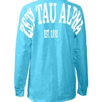 Zeta Tau Alpha Stadium Shirt
