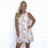 Juicy Fruit Pastel Dress
