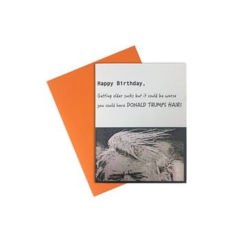 Card- Donald Trump Happy Bday
