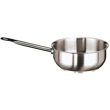 Stainless Steel Curved Saute Pan, 3 1/2 Quart