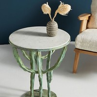 Clustered Cacti Side Table