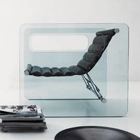 Tonelli Naked | Lounge Chair | Seating | Glass | Living Room Furniture Ultra Modern