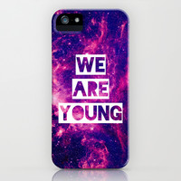 We Are Young iPhone & iPod Case by hyakume