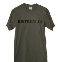 The Hunger Games District 12 Military Green by ParamountPacific