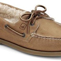 Sperry Top-Sider Authentic Original Winter 2-Eye Boat Shoe DarkTan, Size 13M  Men's Shoes