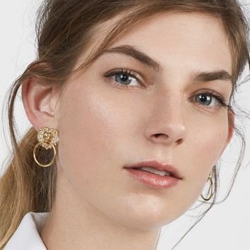 Panthera Lion Head Earrings