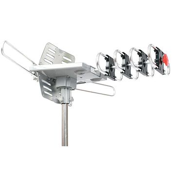 Supersonic 360? Hdtv Digital Amplified Motorized Rotating Outdoor Antenna