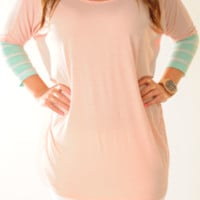 Goodnight Kisses Top: Light Pink | Hope's