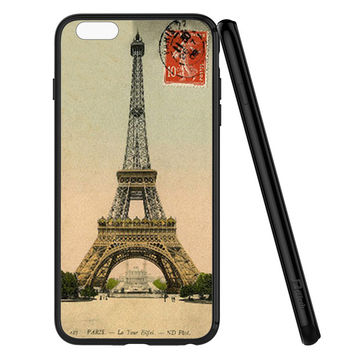Paris Eiffel Tower Postcard iPhone 6 | 6S Case Planetscase.com