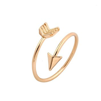 Shuangshuo Vintage  Arrow Ring
