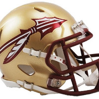 Florida State Seminoles Speed Mini Helmet - 2014 Gold