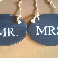 Beach Wedding Signs Nautical Wedding Signs NAVY by RomanticPlanet
