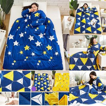 Blanket Creative Lazy Thickened Washed Quilt