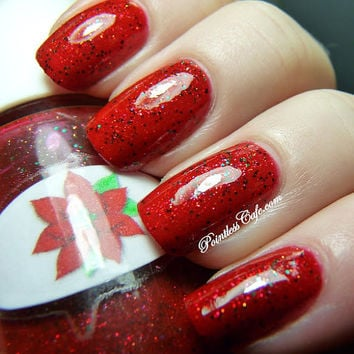 Poinsettia Nail Polish