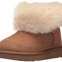 UGG Kids' T Bailey Button II Fashion Boot
