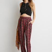 Striped Tribal Print Pants