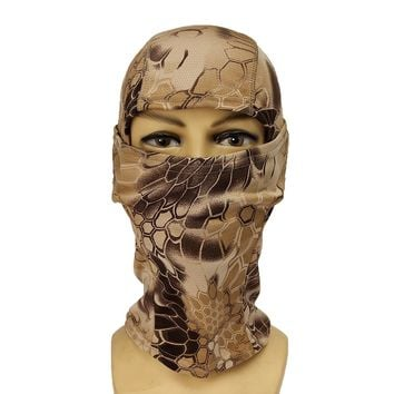 Outdoor Camo Hunting Face Mask