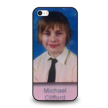 5SOS MICHAEL CLIFFORD iPhone SE Case Cover