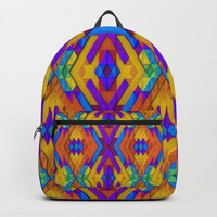 Colorful Geometry Backpacks by Lyle Hatch