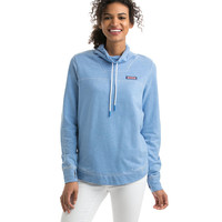 Sunwashed Funnel Neck Relaxed Sweatshirt