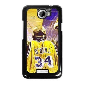 SHAQUILLE O'NEAL LA LAKERS  HTC One X Case Cover