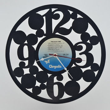 Vinyl Record Album Wall Clock (artist is Pat Benatar)