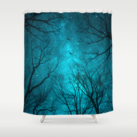 Stars Can't Shine Without Darkness Shower Curtain by Soaring Anchor Designs