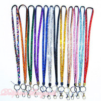 New Colorful Bling Rhinestone Necklace LANYARDs by Doliphine