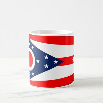 Mug with Flag of Ohio State - USA