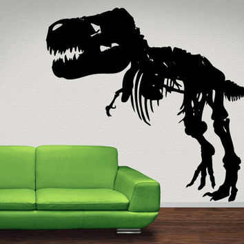 Wall Vinyl Decal Sticker Dino T-Rex #MMartin151