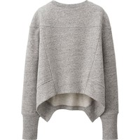 WOMEN URBAN SWEAT LONG SLEEVE PULLOVER | UNIQLO