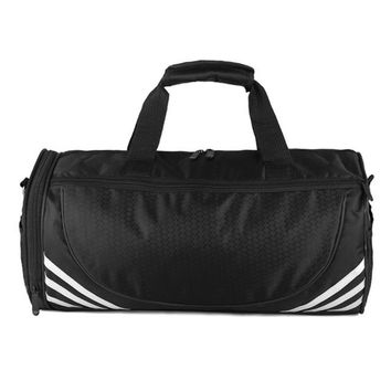 Sports gym bag Men Travel  Large Capacity Male Hand Luggage Travel Nylon Duffle Bags Nylon Hiking Handbag Fitness shoulder Gym Bag KO_5_1