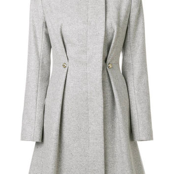 Carven Fitted Collarless Coat - Farfetch