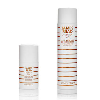 Sleep Mask Tan Go Darker Face & Body Set