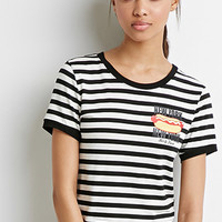 Striped Hot Dog Tee