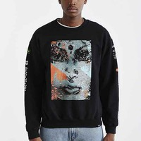 The Watcher Crew Neck Sweatshirt- Black