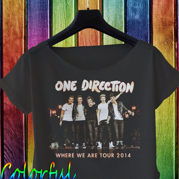 one direction shirt one direction crop top where we are tour CFODIR-1B