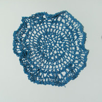 Handmade crochet Web Of Wonder Doily by CanadianCraftCritter