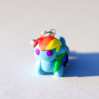 Rainbow Dash MLP Charm (Ready to Ship)